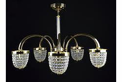 Chandelier Bozzolo 5 Gold