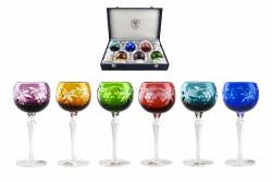 Bleikristall-Gläserset Roman Grapes