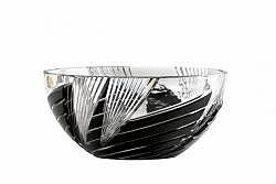 Lead Crystal Bowl Whirl